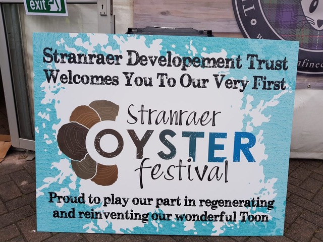 Welcome to Stranraer Oyster Festival