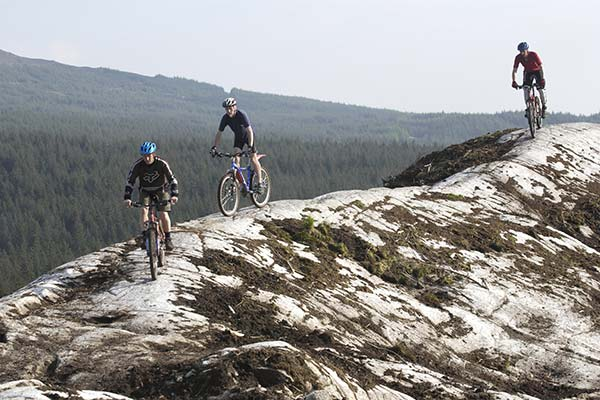 Ride the 7Stanes Mountain Bike Trails © FCS