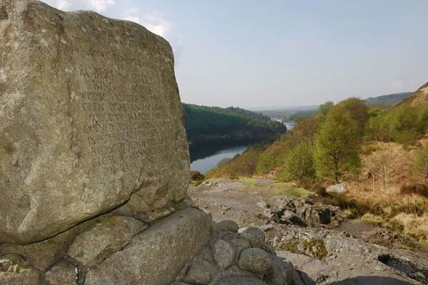 Bruce's Stone at Galloway Forest Park © FCS